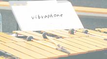 ビブラフォンの画像(吹奏楽に関連した画像)