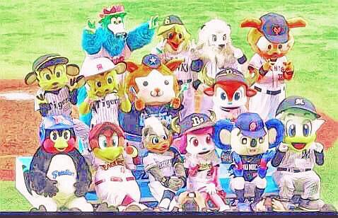 プロ野球 キャラクターの画像18点完全無料画像検索のプリ画像