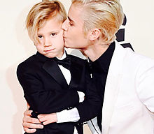Justin and Jaxonの画像(プリ画像)