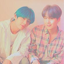 BTS  ゆんてて🐭🦁  🔍⤴︎ ⤴︎ プリ画像