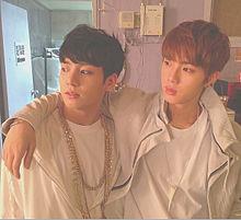 BTS  長男&末っ子  🔍⤴︎ ⤴︎の画像(JIN/キムソクジン/ジンに関連した画像)
