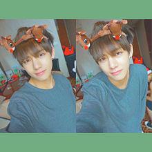 BTS  てて🦁  クリスマス  🔍⤴︎ ⤴︎の画像(ホソク/ホビに関連した画像)