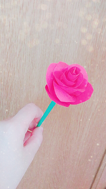 手作りのバラ~🌹の画像(プリ画像)