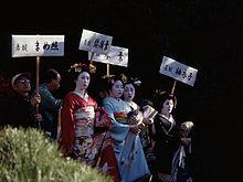 舞妓の画像(祇園甲部に関連した画像)