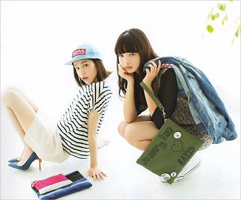 水原希子♡小松菜奈の画像 プリ画像