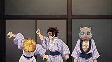 鬼滅の刃の画像(天ぷらに関連した画像)