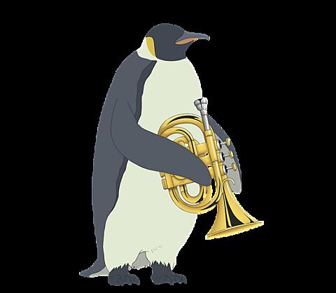 ペンギンさん▼背景透過の画像(プリ画像)