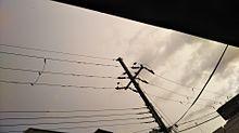 雨の日の夕日の画像(夕日に関連した画像)