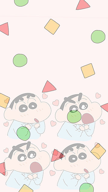 壁紙クレヨンしんちゃんの画像 プリ画像
