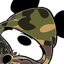 ミッキー 迷彩の画像(プリ画像)