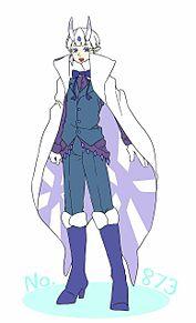 雪蛾の青年の画像(擬人化に関連した画像)
