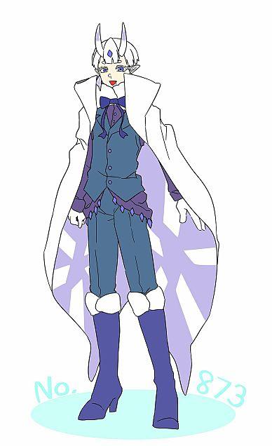 雪蛾の青年の画像(プリ画像)