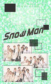 SnowMan 緑ver. ロック画の画像(緑に関連した画像)