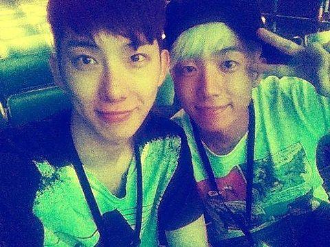 ウヨンとチョグォン♡の画像(プリ画像)