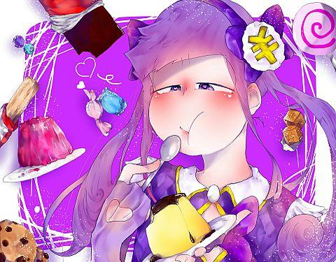 魔法少女にお菓子は似合う←の画像(プリ画像)