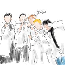 韓国イラスト諸々(説明欄必須の画像(イラスト SEVENTEENに関連した画像)