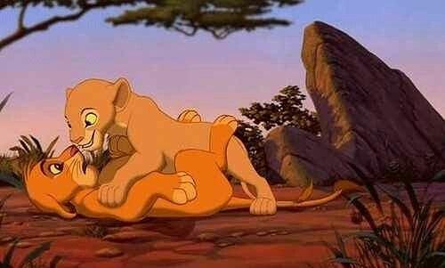 遊ぶライオンキング