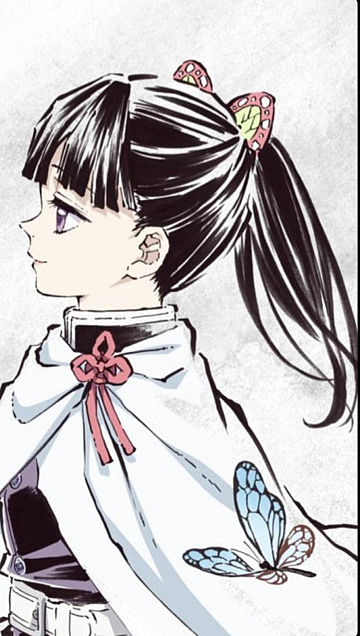 きめつのやいばカナヲのイラスト