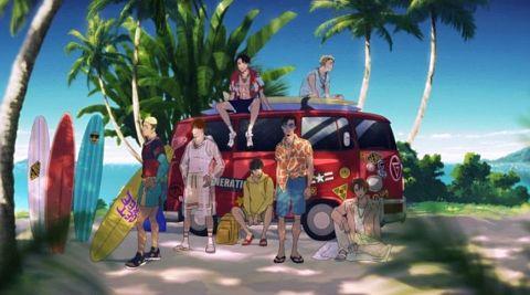 「Brand New Story」MV、メンバーがアニメ化の画像(プリ画像)