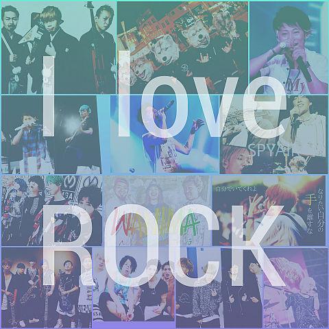 I LOVE ROCKの画像(プリ画像)