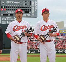 カープ優勝と黒田 引退の画像(プリ画像)