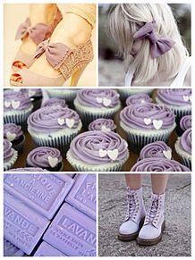 紫 ミニ画 プリ画像