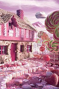 お菓子の家の画像(プリ画像)