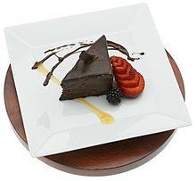 チョコレートケーキの画像(高級感に関連した画像)
