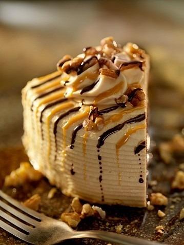 クルミキャラメルケーキの画像(プリ画像)