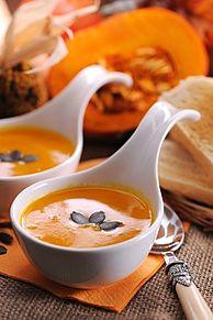 かぼちゃスープ プリ画像