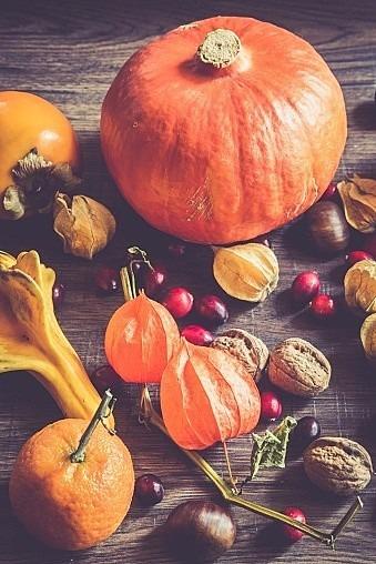 秋の野菜と果物の画像 プリ画像