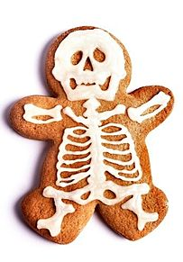 骸骨クッキーの画像(プリ画像)