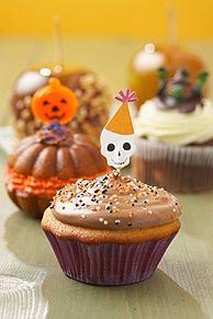 ハロウィンカップケーキの画像(ホムペ素材/HP素材に関連した画像)