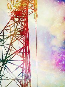 送電塔の画像(電線に関連した画像)