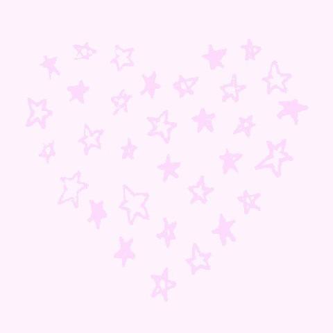 ハート 星 背景の画像(プリ画像)