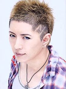 GACKT  短髪の画像(プリ画像)