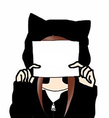 猫耳パーカー プリ画像