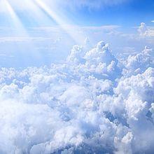 雲の上の画像(眺めに関連した画像)