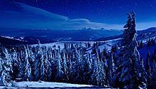 壮大な雪景色の画像(プリ画像)