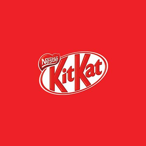 キットカット  赤  おしゃれ 海外  お菓子 かわいいの画像(プリ画像)