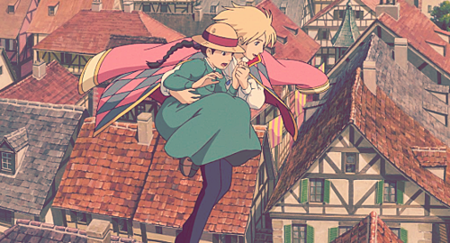 ソフィーとハウルの空中散歩