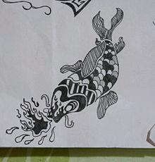 錦鯉風の画像(錦鯉に関連した画像)