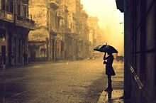 素材*rain-女の子-の画像(プリ画像)