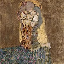 接吻の画像(クリムトに関連した画像)