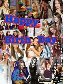 miley!  Happy Birth Day プリ画像