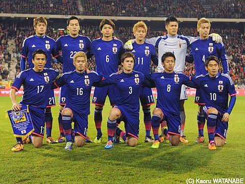 サッカー日本代表の画像(プリ画像)