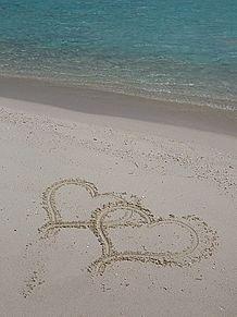 海 ハートの画像(プリ画像)
