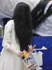 リング貞子 怖い画像 おもしろ画像の画像(プリ画像)