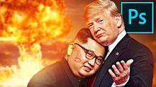 金正恩氏 トランプ大統領 おもしろ画像 プリ画像