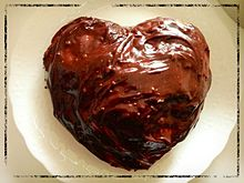 蒸しチョコバナナケーキの画像(チョコバナナに関連した画像)